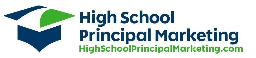 High School Principal Marketing